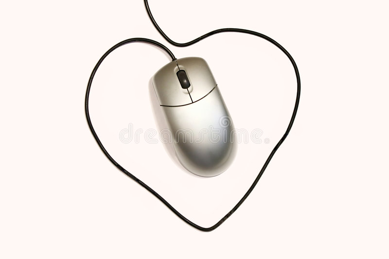 De muis van de computer stock foto