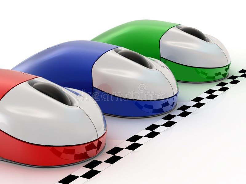 De muis van de computer vector illustratie