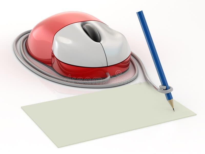 De muis van de computer stock illustratie