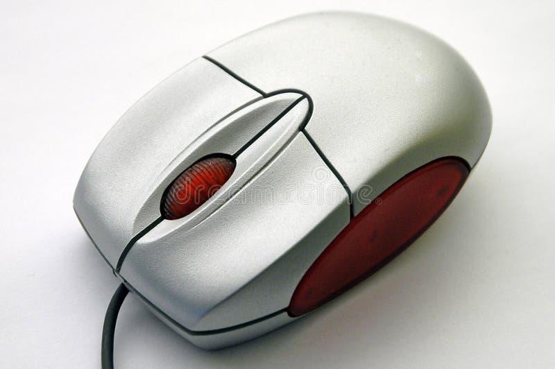 De muis van de computer van diagonale mening stock afbeelding