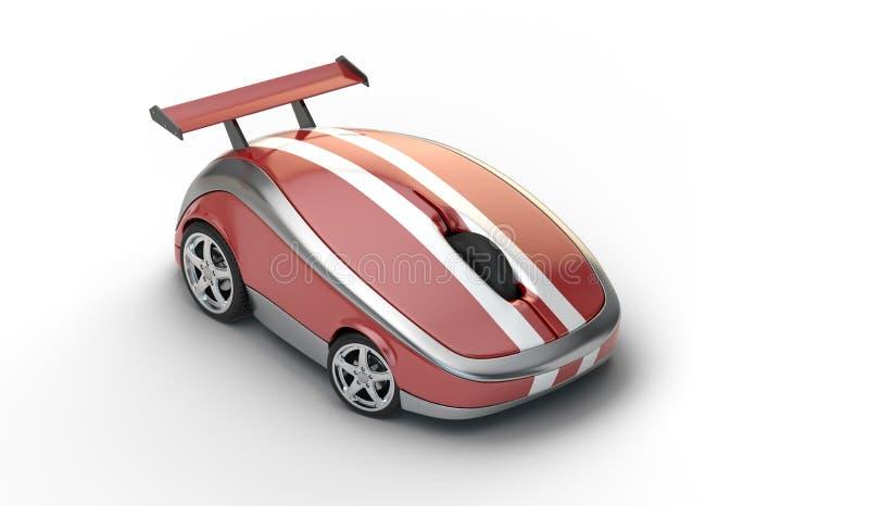 De muis van de hoge snelheid vector illustratie