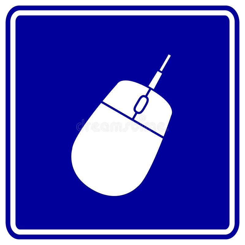 De muis vectorteken van de computer royalty-vrije illustratie