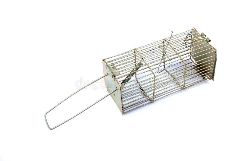 De muisval van het metaal stock afbeelding