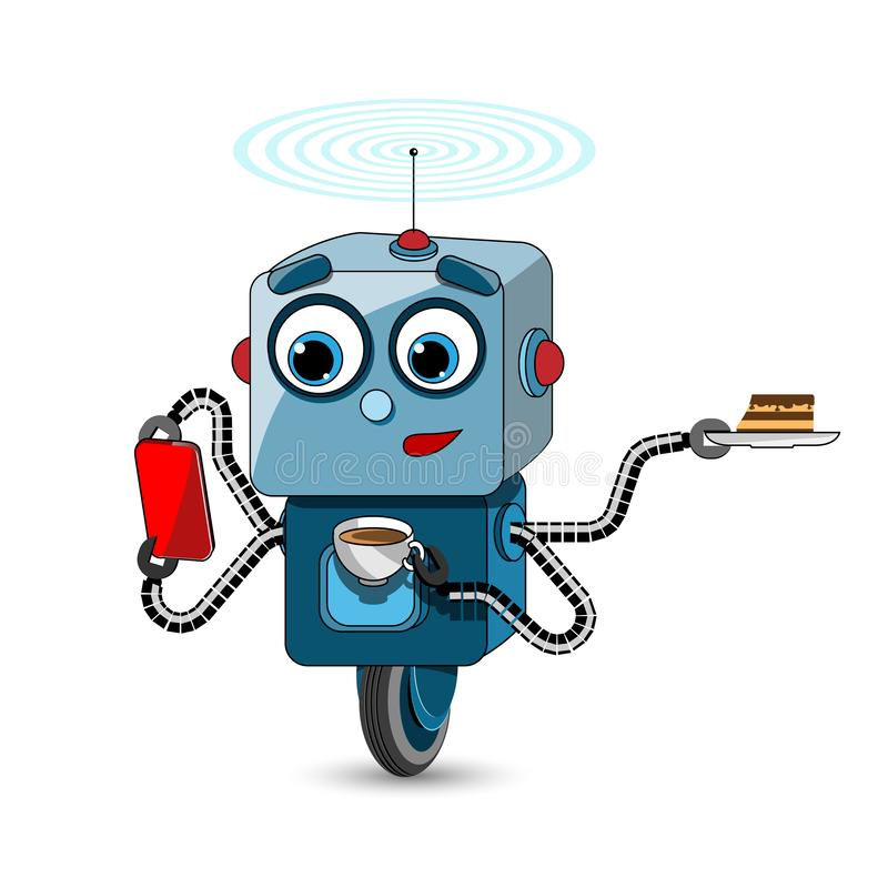 De Multifunctionele Robot van de voorraadillustratie vector illustratie