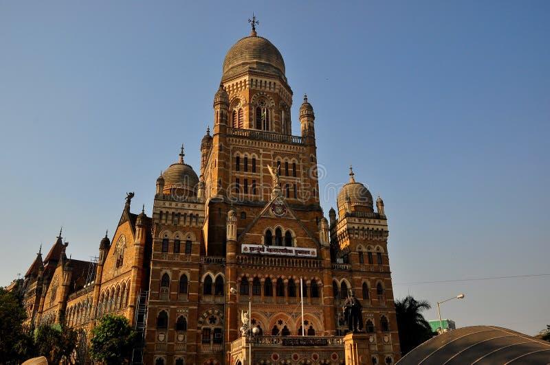 De Mumbai gemeentelijke bouw stock afbeelding