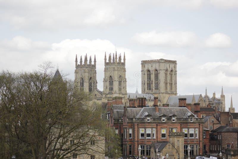 De Munster van York in April, Groot-Brittannië stock foto