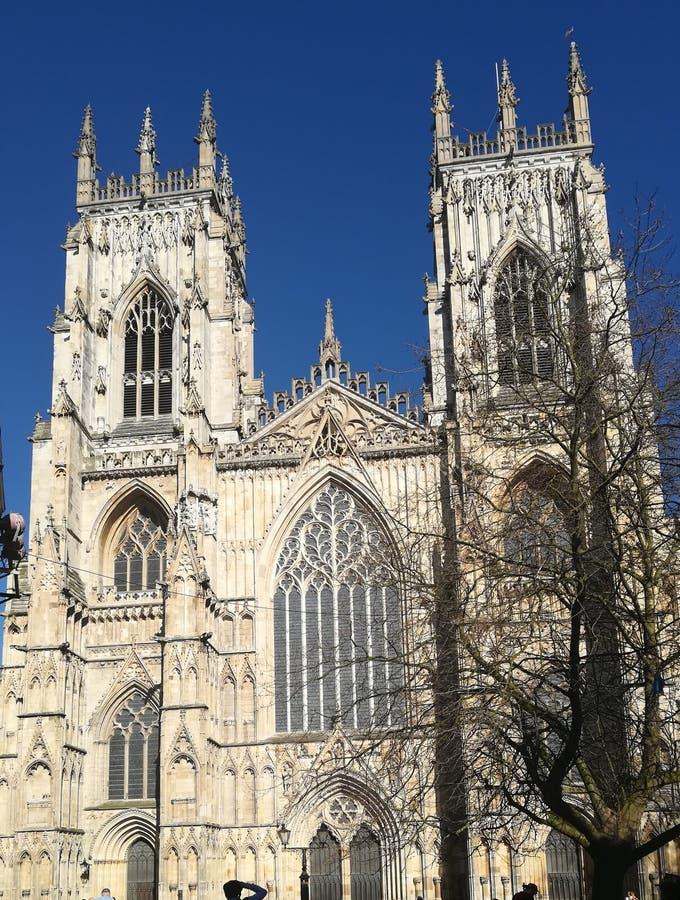 De Munster van York op een zonnige dag stock foto