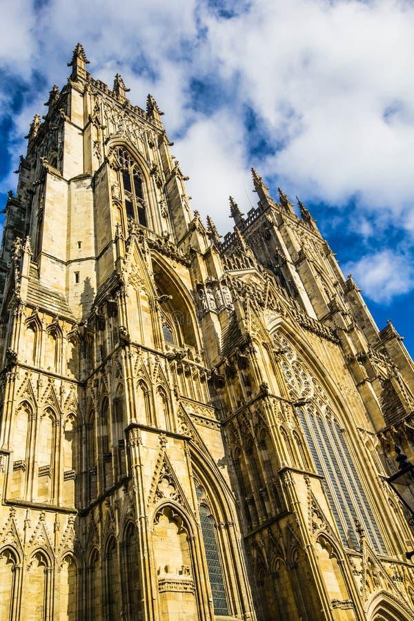 De Munster van York, York, Engeland, het Verenigd Koninkrijk royalty-vrije stock afbeelding