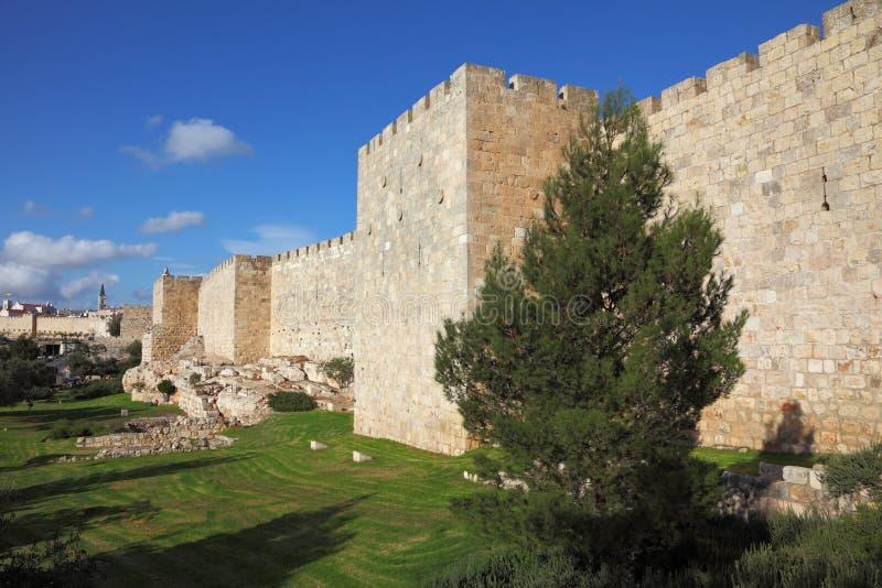De muren royalty-vrije stock foto's