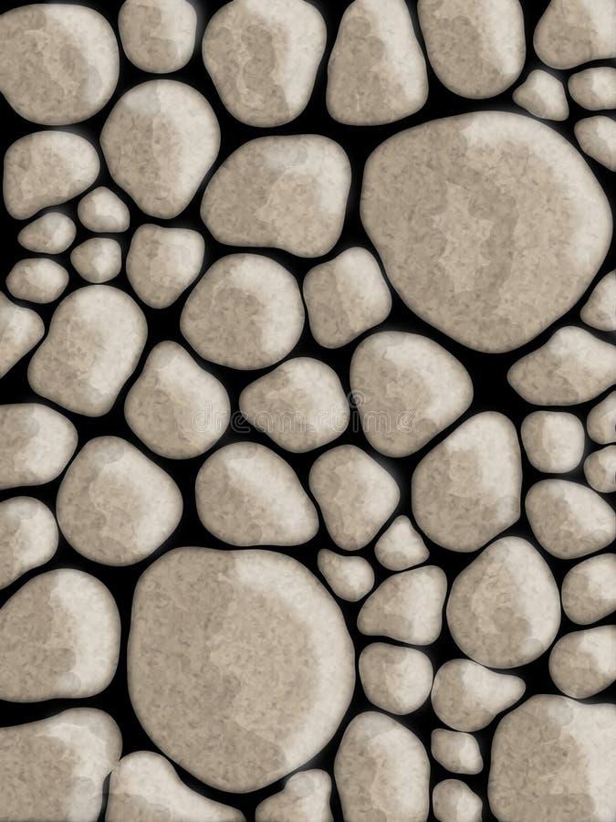 De muren abstracte achtergrond van de steen vector illustratie