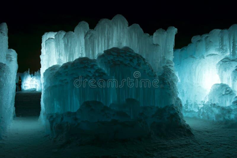 De Muren en de Passages van het ijs stock foto