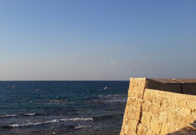 De Muren van de acrestad stock afbeeldingen
