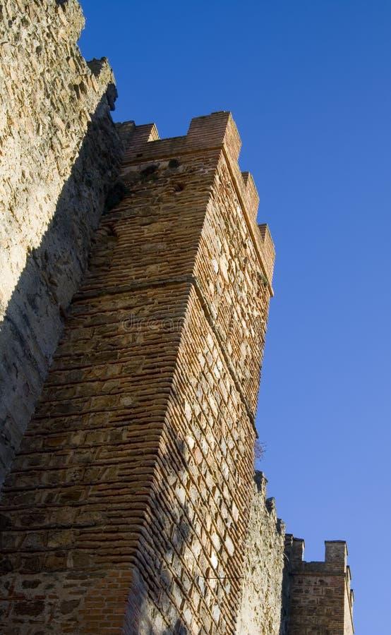 De Muren van de stad stock foto