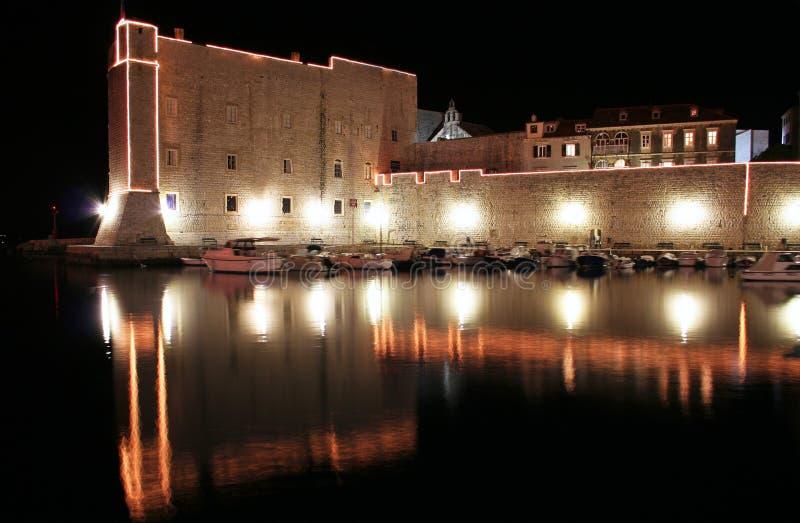 De muren van Dubrovnik royalty-vrije stock afbeelding