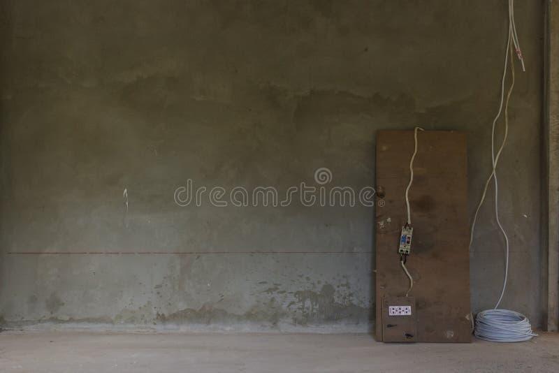 De muren zijn leeg stock foto