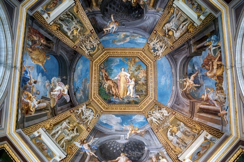 De Musea van Vatikaan, Rome - Italië royalty-vrije stock afbeeldingen