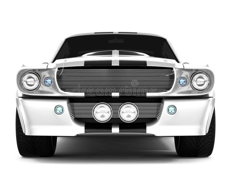 De Mustang GT500 van Shelby royalty-vrije illustratie