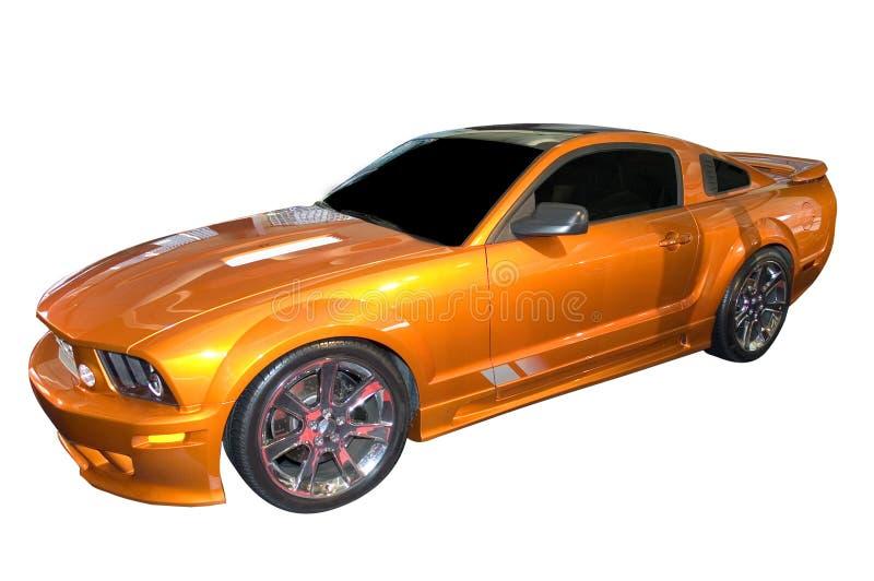 De Mustang van de doorwaadbare plaats, Versie Saleen stock foto's