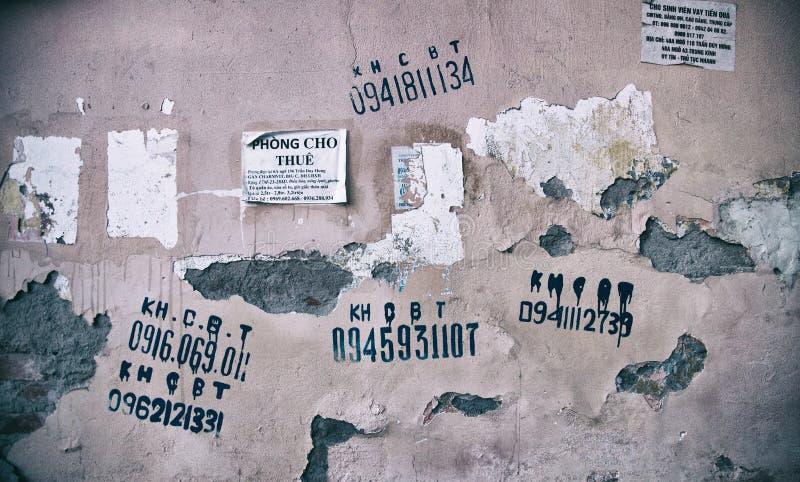 De muur royalty-vrije stock fotografie