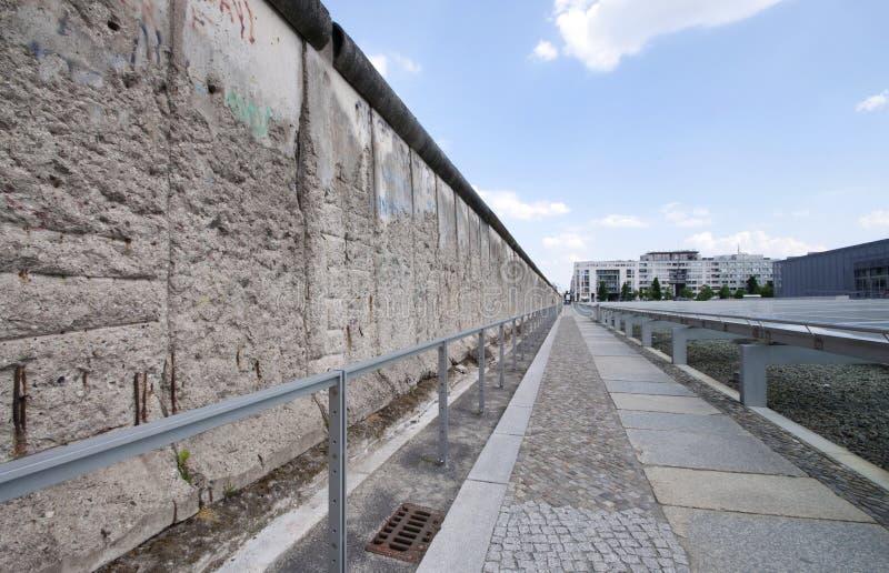 De Muur van Berlijn royalty-vrije stock afbeeldingen