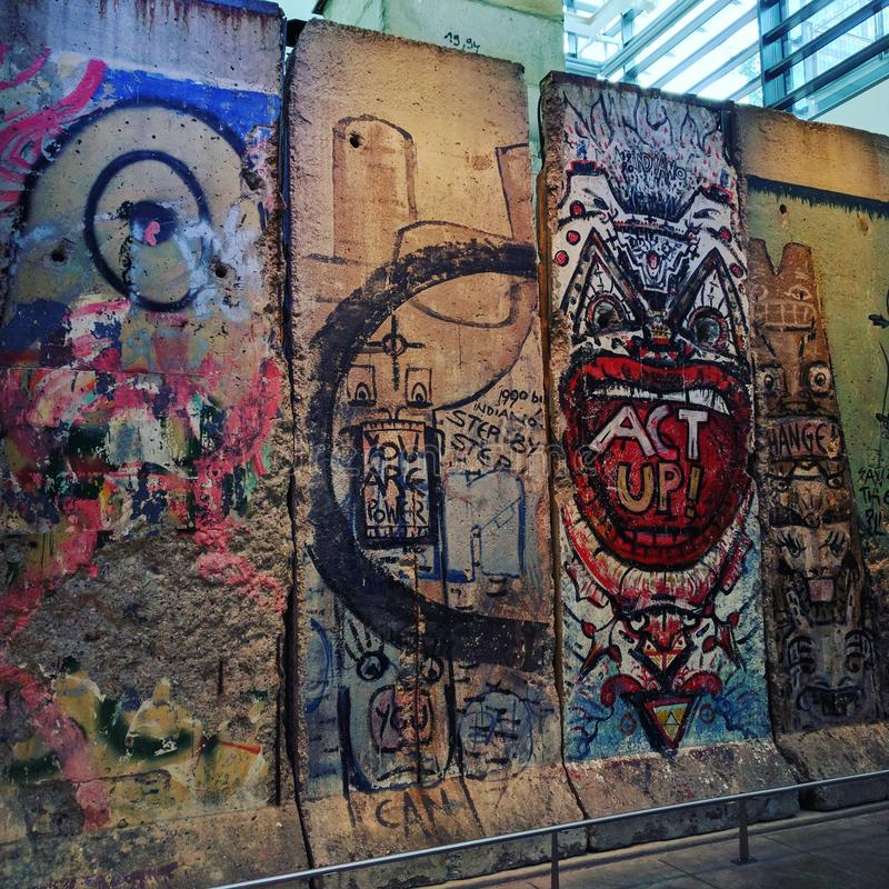 De Muur van Berlijn royalty-vrije stock foto