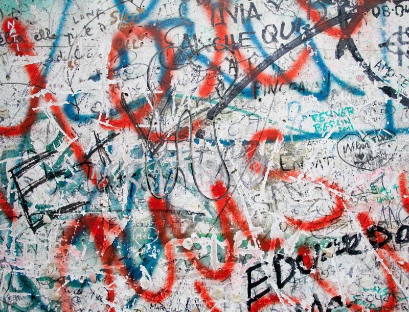 De Muur van Berlijn op Potsdamer Platz in Berlijn royalty-vrije stock fotografie