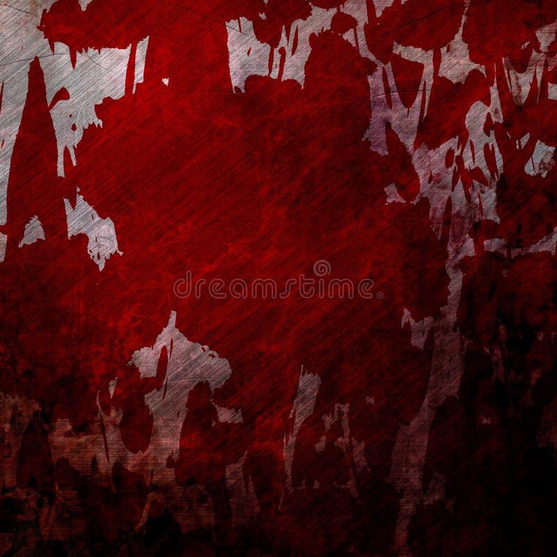 De muur van Bloodied grunge vector illustratie