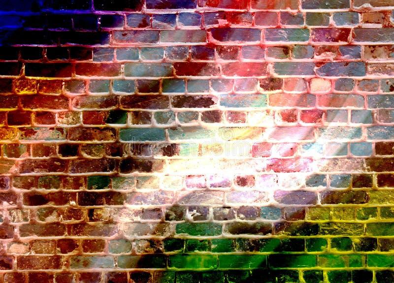 De muur van de disco royalty-vrije stock afbeeldingen