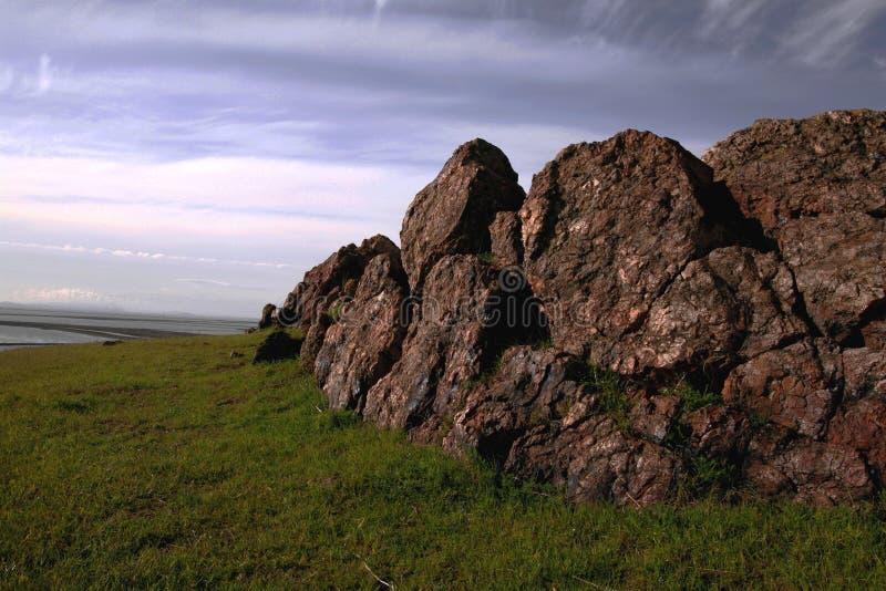 De Muur van de rots royalty-vrije stock foto