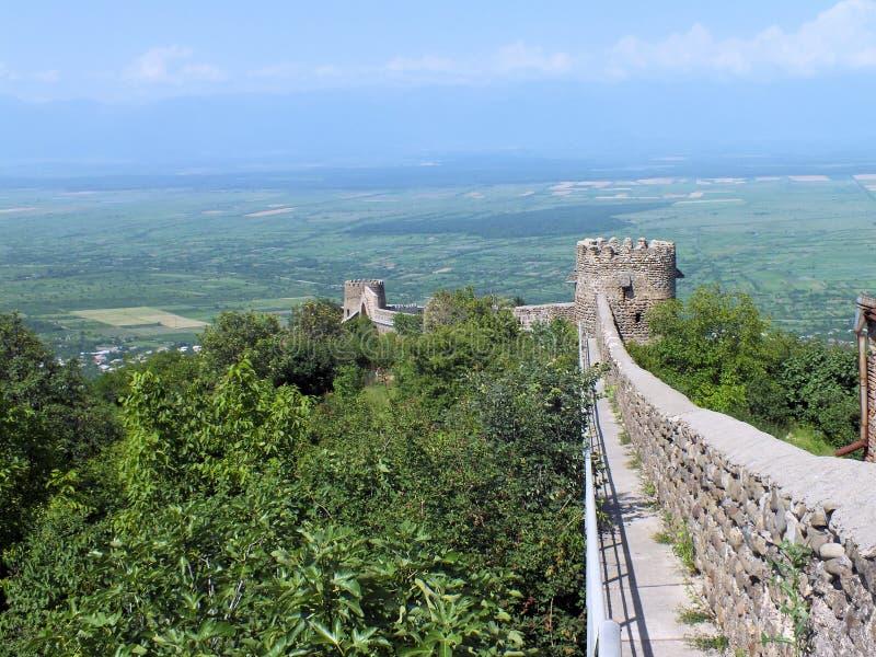 De Muur van de Sighnaghistad royalty-vrije stock afbeelding