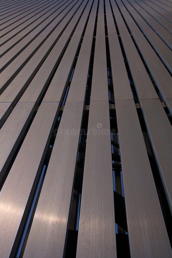 De Muur van de Staaf van het metaal stock afbeelding