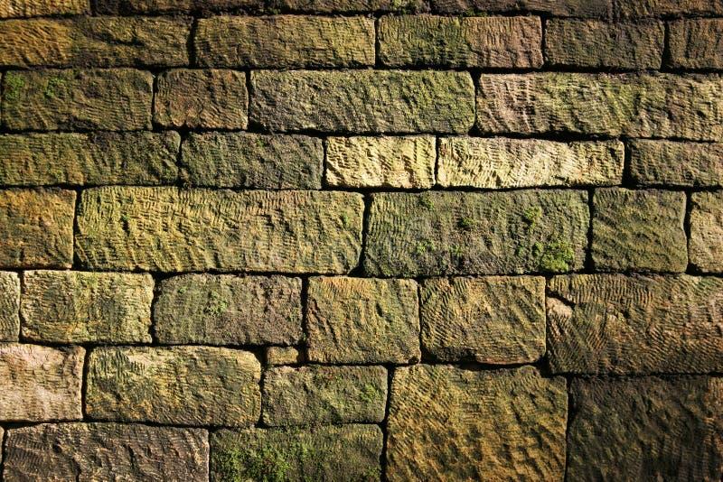 De muur van de steen stock fotografie