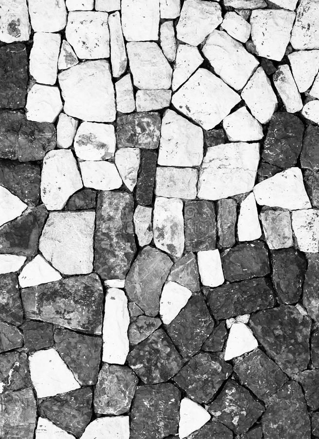 De muur van de steen royalty-vrije stock foto's