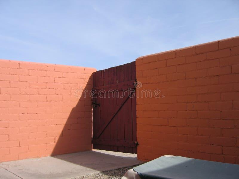 De Muur van de woestijn royalty-vrije stock afbeelding