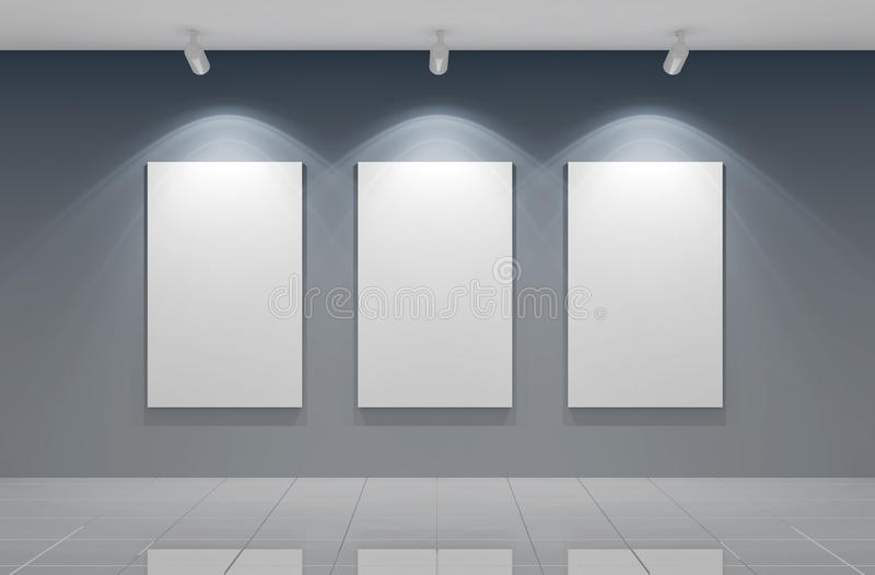 De muur van het album royalty-vrije illustratie