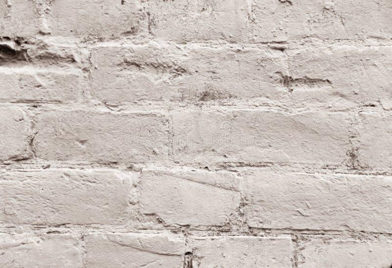 De muur van het baksteencement als achtergrond stock fotografie