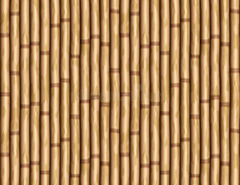 De Muur Van Het Bamboe Stock Afbeelding Afbeelding