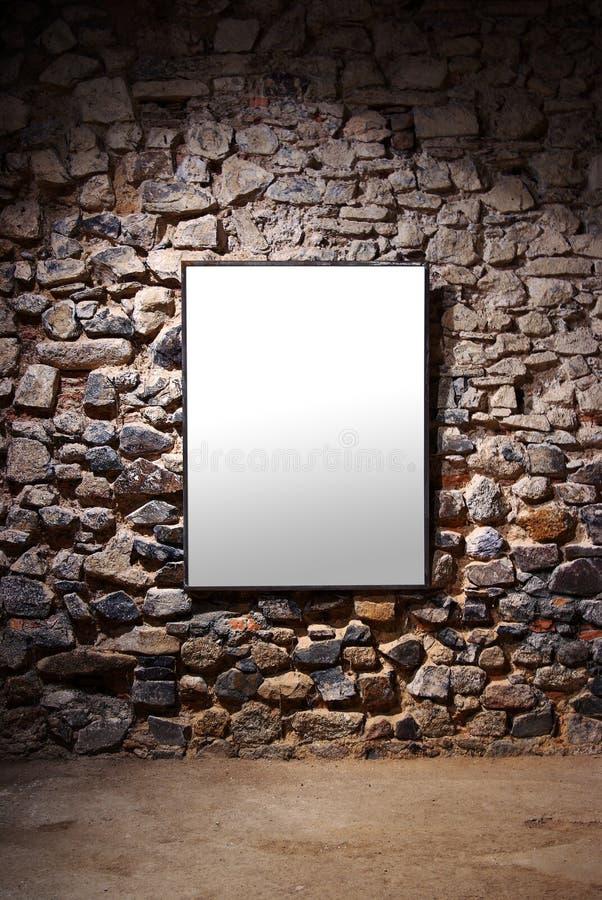 De Muur van het frame royalty-vrije stock foto