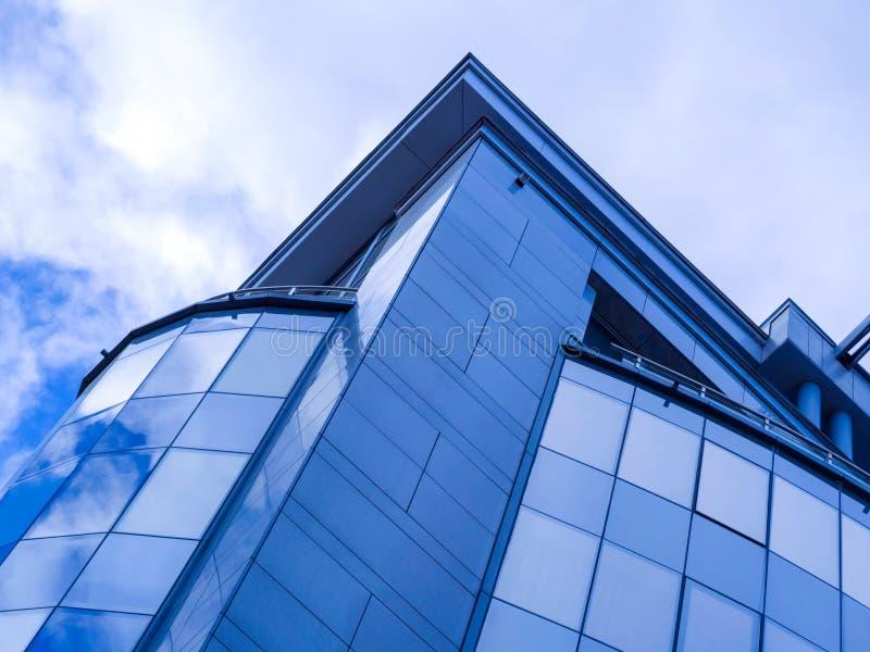 De muur van het glas stock foto