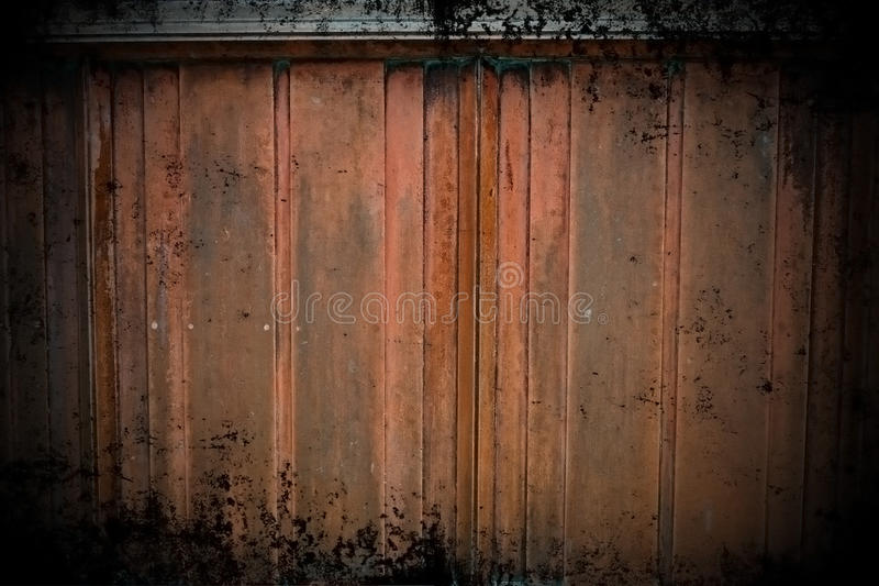 De Muur van het Koper van Grunge stock afbeeldingen
