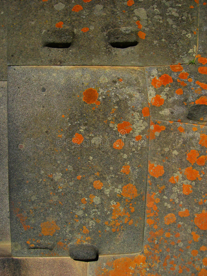 De Muur van Inca - Peru stock foto