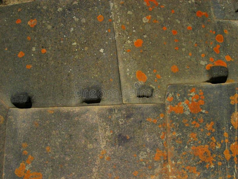 De Muur van Inca - Peru stock afbeelding