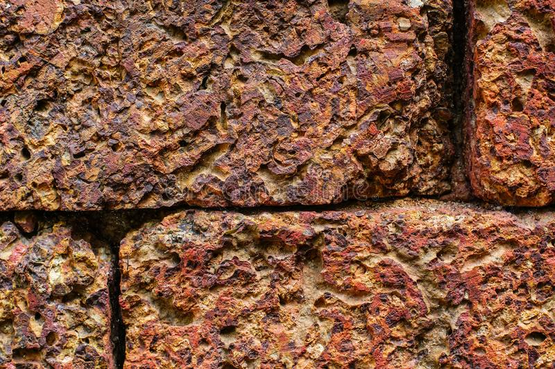 De muur van de steen royalty-vrije stock afbeeldingen