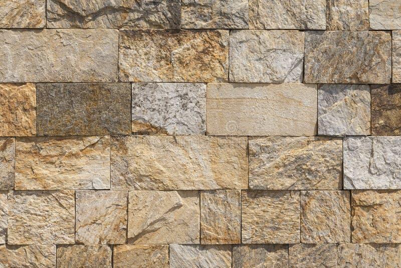 De muur van stenenblokken royalty-vrije stock afbeeldingen