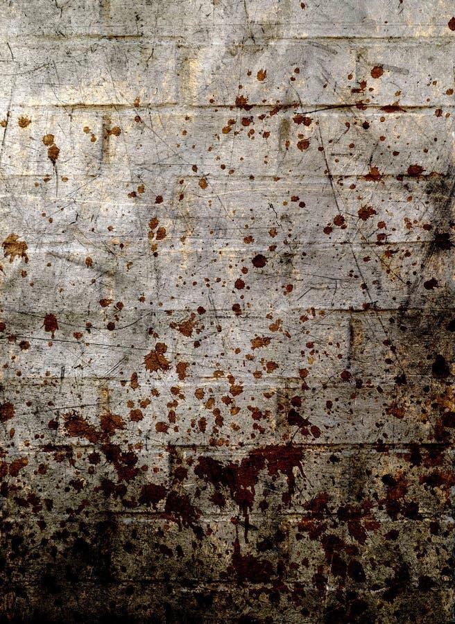 De muurachtergrond van Grunge royalty-vrije stock foto's