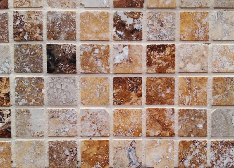 De muurachtergrond van de moza?ektegel stock afbeelding
