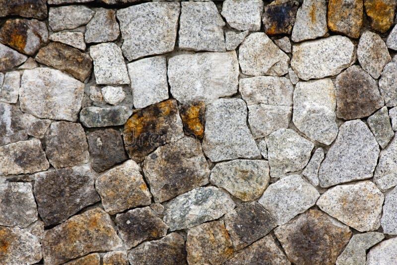 De muurpatroon van de rots stock fotografie