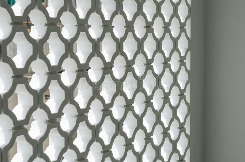 De muurpatroon van het cirkelblok stock fotografie