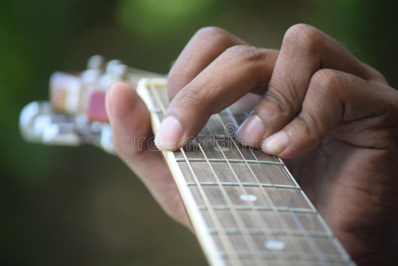 De muziek is het leven op Erth stock fotografie