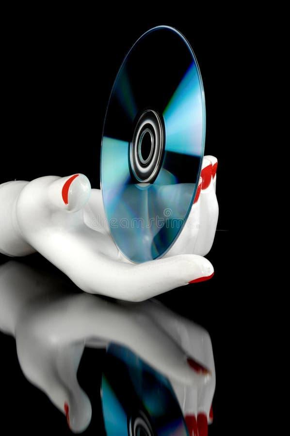 De muziek van CD stock afbeelding